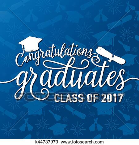 Clip Art of Vector on seamless graduations background