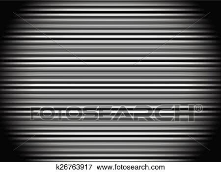 Clip Art of Dark stripes background with thin lines Empty camera
