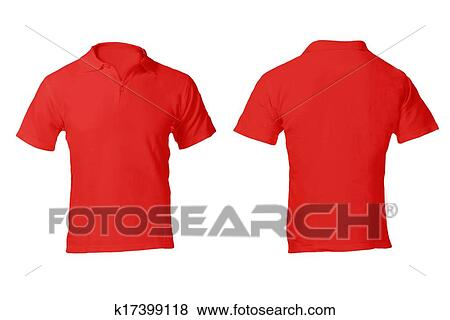 Pictures of Men\u0027s Blank Red Polo Shirt Template k17399118 - Search