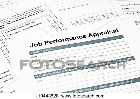 Pictures of job performance appraisal form for business k19443528