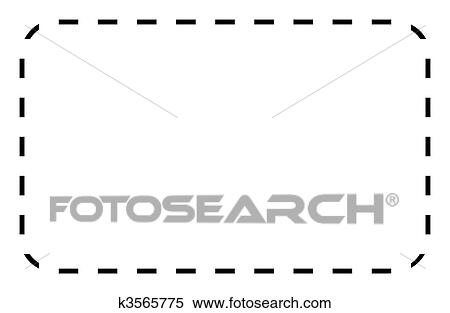 Stock Illustration of Blank coupon or voucher k3565775 - Search - blank voucher