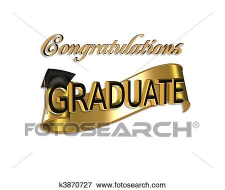 Stock Illustration of Graduation congratulations k3870727 - Search - congratulation graduation