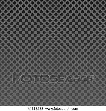Clipart of Illustration steel mesh background seamless k4118233