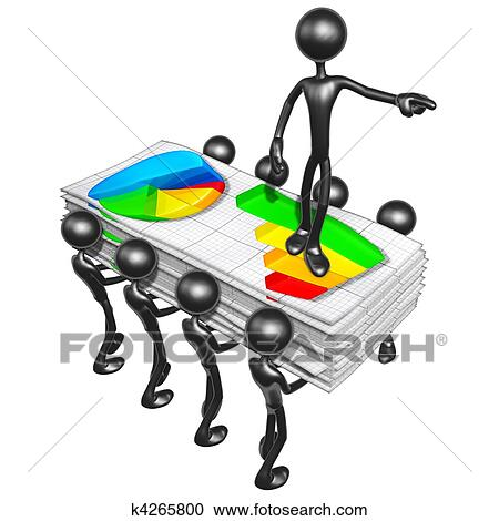 Stock Illustrations of Business Reports k4265800 - Search Clipart