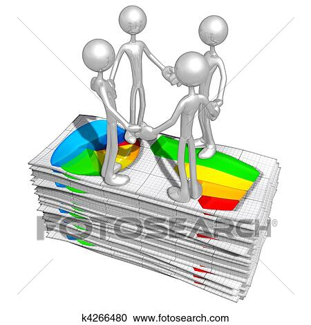 Stock Illustrations of Business Reports k4266480 - Search Clipart