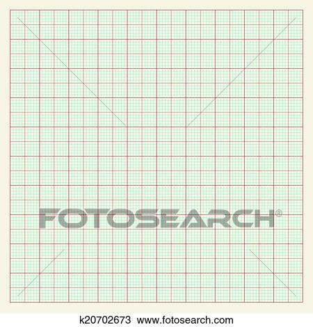 Clipart of Graph paper background k20702673 - Search Clip Art