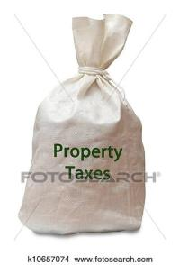 Stock Photo of Property tax k10657074 - Search Stock ...