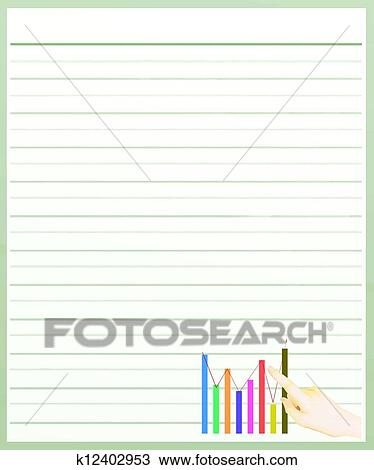 Color Lined Paper kicksneakers - color lined paper