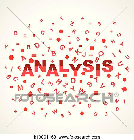 Clip Art of Analysis word with in alphabets k13001168 - Search - word alphabets