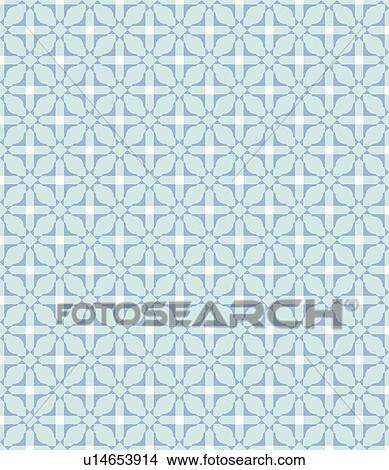 Blue Fancy Background Pattern Clipart u14653914