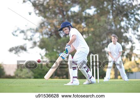 Pictures of Boys playing cricket u91536628 - Search Stock Photos