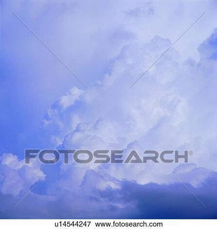 Foto - nubes blancas, cielo gris, cielo, plano de fondo, nubes - fondo nubes