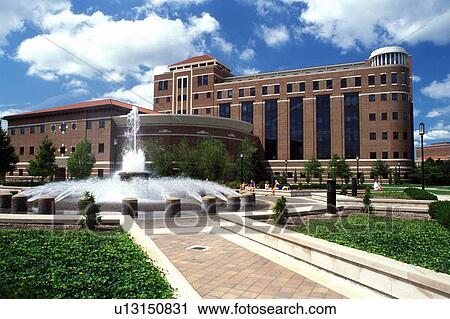 Stock Photography of college, university, Purdue University, West - purdue university campus