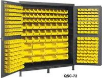 Heavy Duty All-Welded Bin Cabinets, Plastic Bin Welded ...