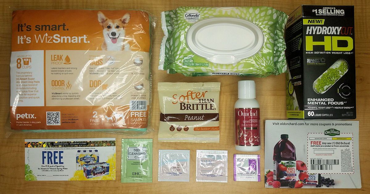 FREE Sample Mail Call for June - Free Product Samples