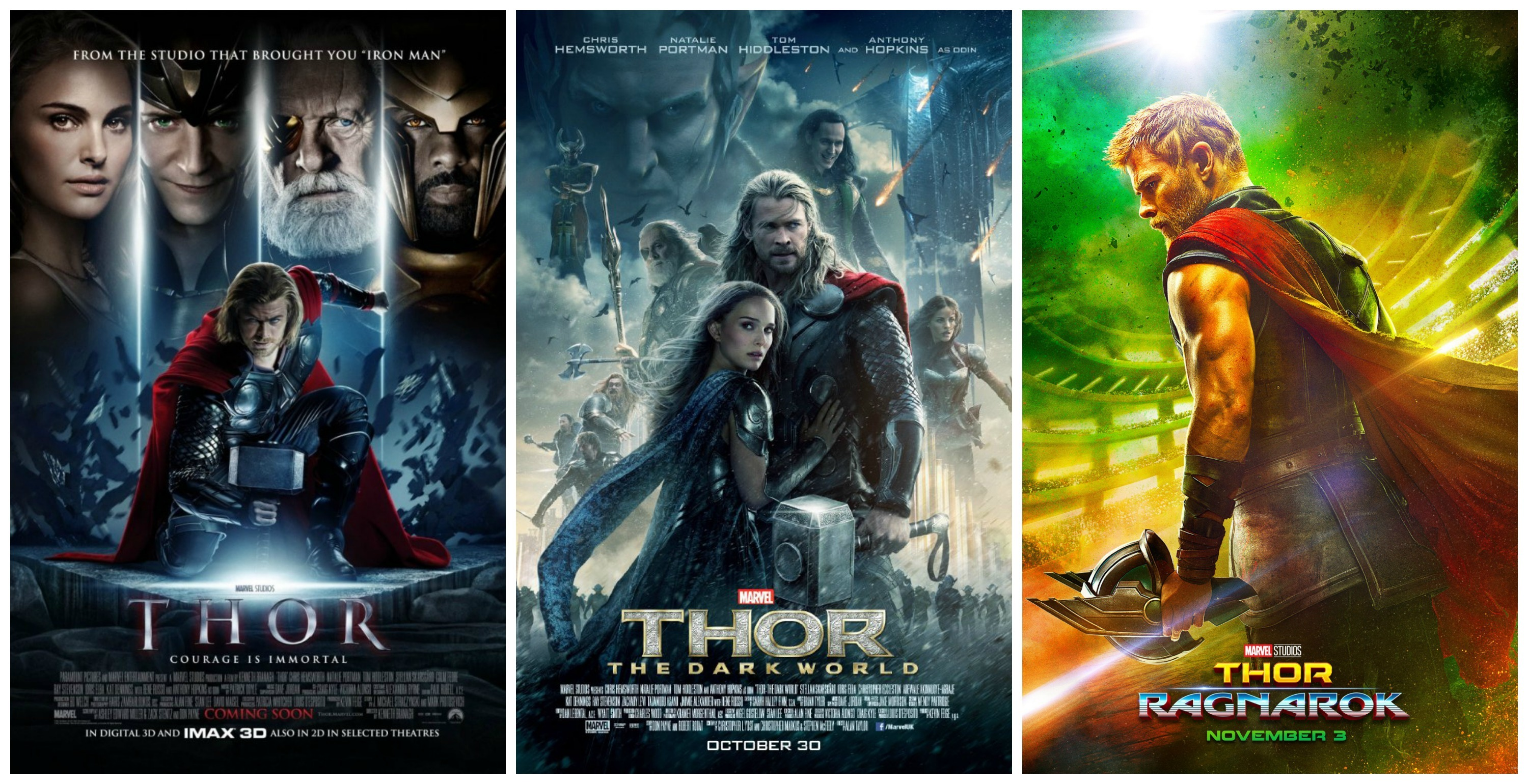 Thor 3d Hd Wallpaper Thor Ragnarok Poster Gives Off Gladiator Vibes Inverse