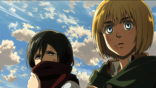 Falling Hair Haircut Wallpaper A Major Character Is Kidnapped In The Attack On Titan