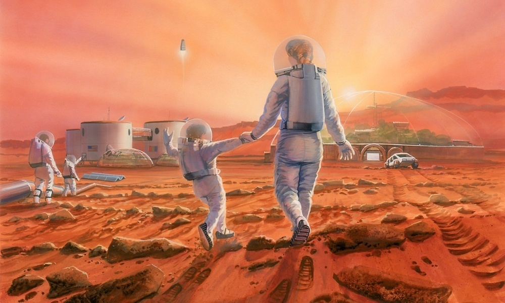 Where's the Mars Colonization Plan? Beneath Outdated Space Treaties | Inverse