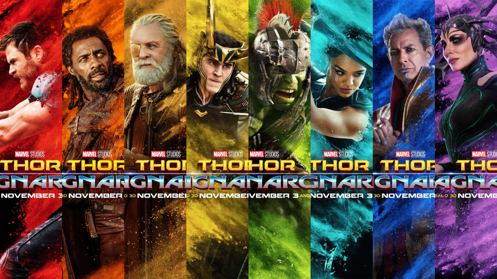 Wallpaper Superhero Marvel 3d Thor Ragnarok Would Have Been Perfect If It Could Have