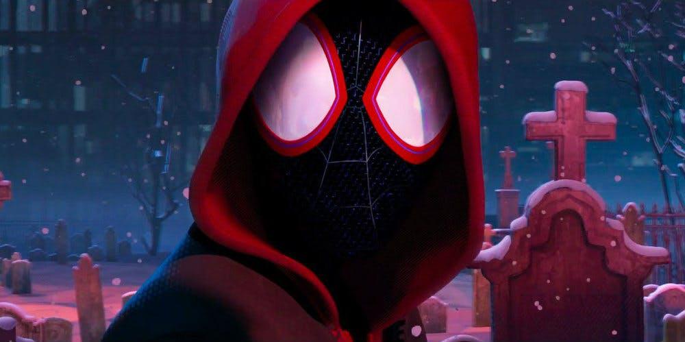 Animated Spider Wallpaper Peter Parker Dies In Spider Man Into The Spider Verse