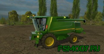 Мод John Deere W540 для Farming Simulator 2015