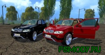 Мод «BMW X5 2004» для Farming Simulator 2015