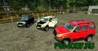 Мод «УАЗ Патриот» для Farming Simulator 2015