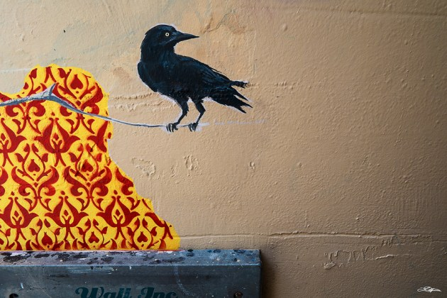 Some street art in the City of Perth