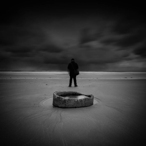 The Prince of Darkness II - A Self Portrait by Andy Gray