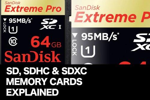 Luxurious Sdhc Sdxc Memory Cards Explained F S Lounge Sdxc Vs Sdhc Compatibility Sdxc Vs Sdhc Class 10