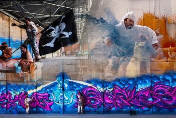 Hyperlapse: The Collision of Incredible Graffiti and Digital Artists