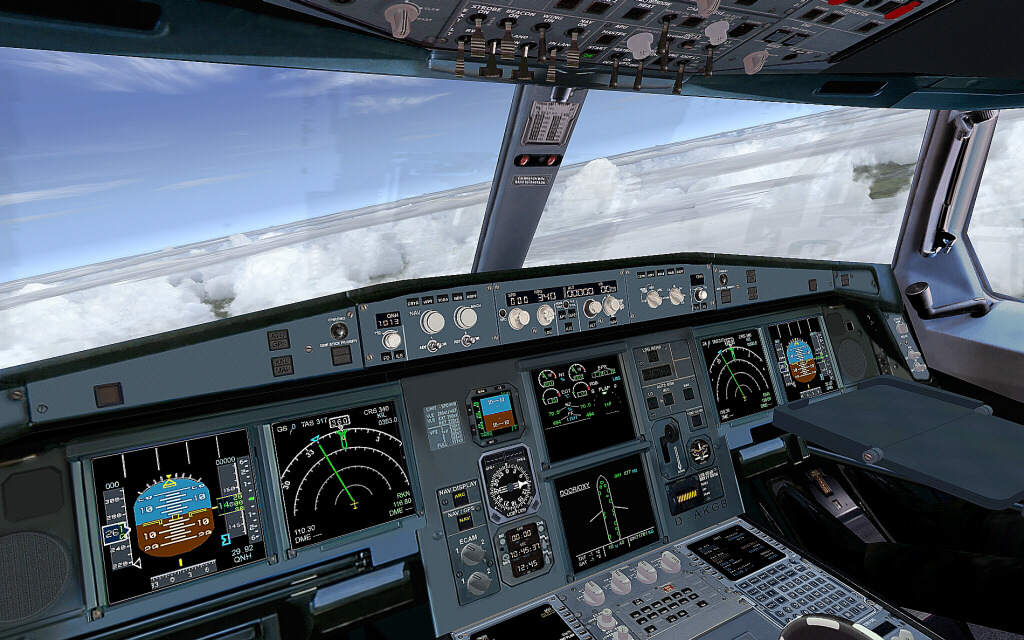 Air Berlin Flight Airbus Industrie Fsx - Fsx Aircraft Airliners - Fsx Add