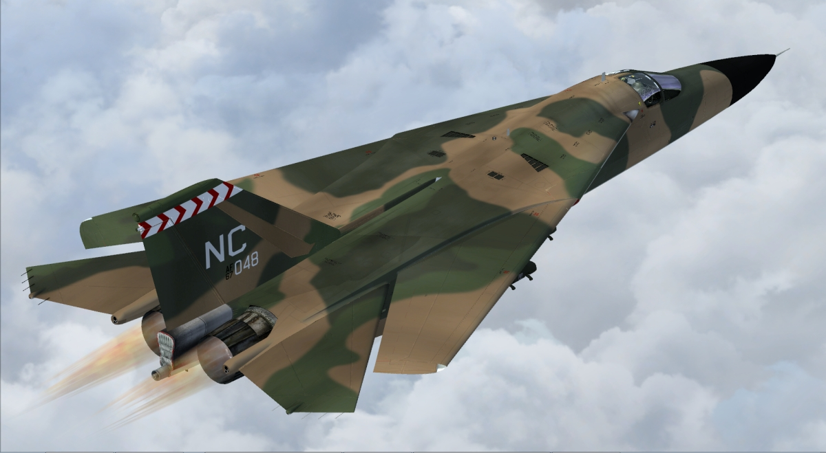 Professional Lighting Kit For Video F-111 Aardvark Fsx & Prepar3d - Fsx Military Aircraft