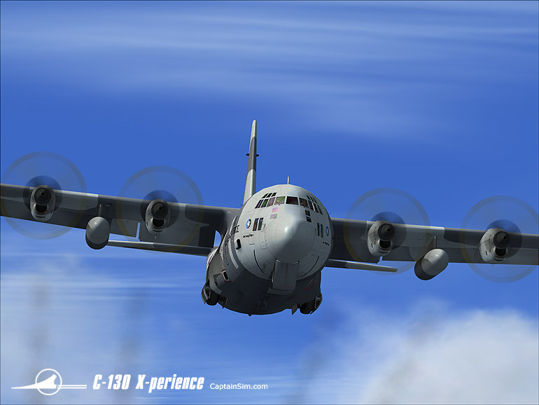 Fsx Planes Hercules C-130 X-perience All-in-one Pack Fsx - Fsx