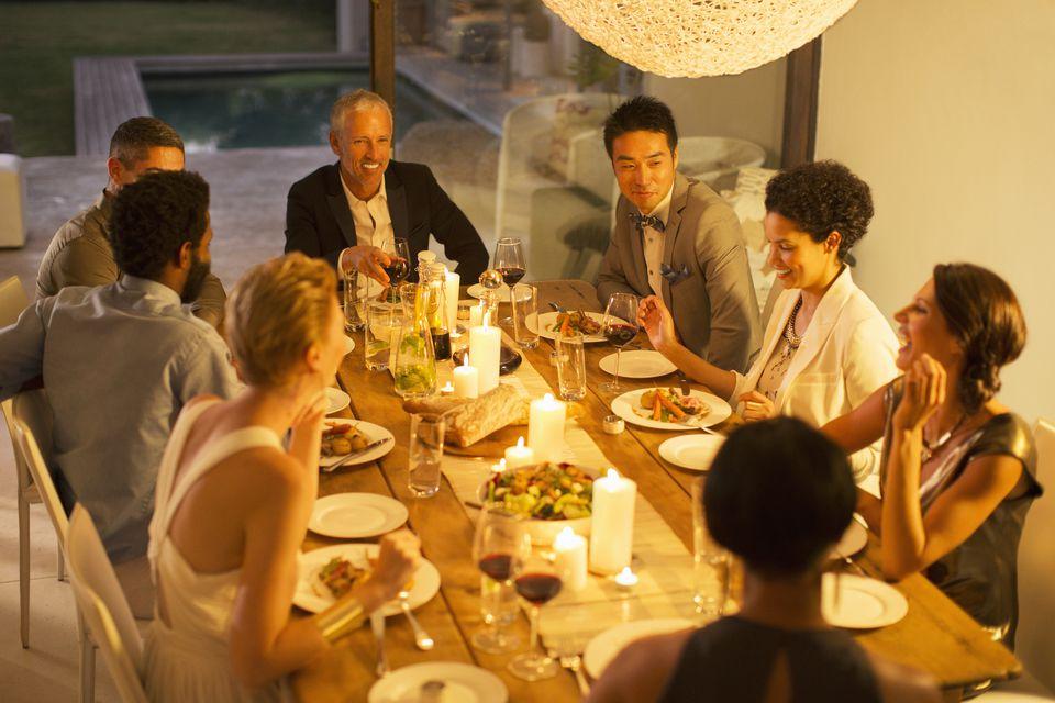 formal dinner party invitations