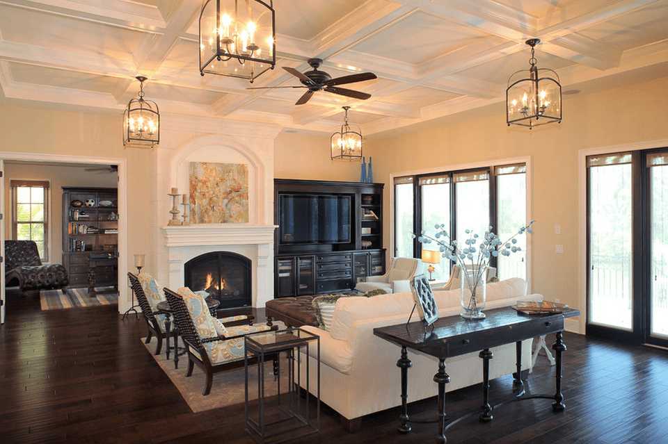 Family Room Ceiling Lights 15 Beautiful Living Room Lighting Ideas