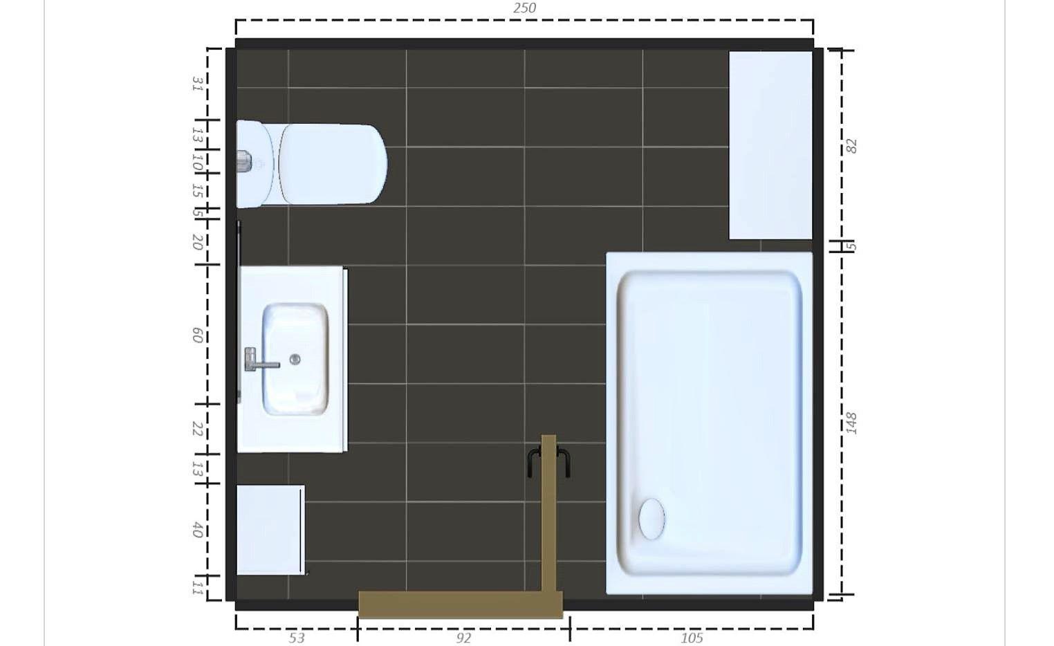 Bathroom Layout For 4 X 7 4 x 7 bathroom layout
