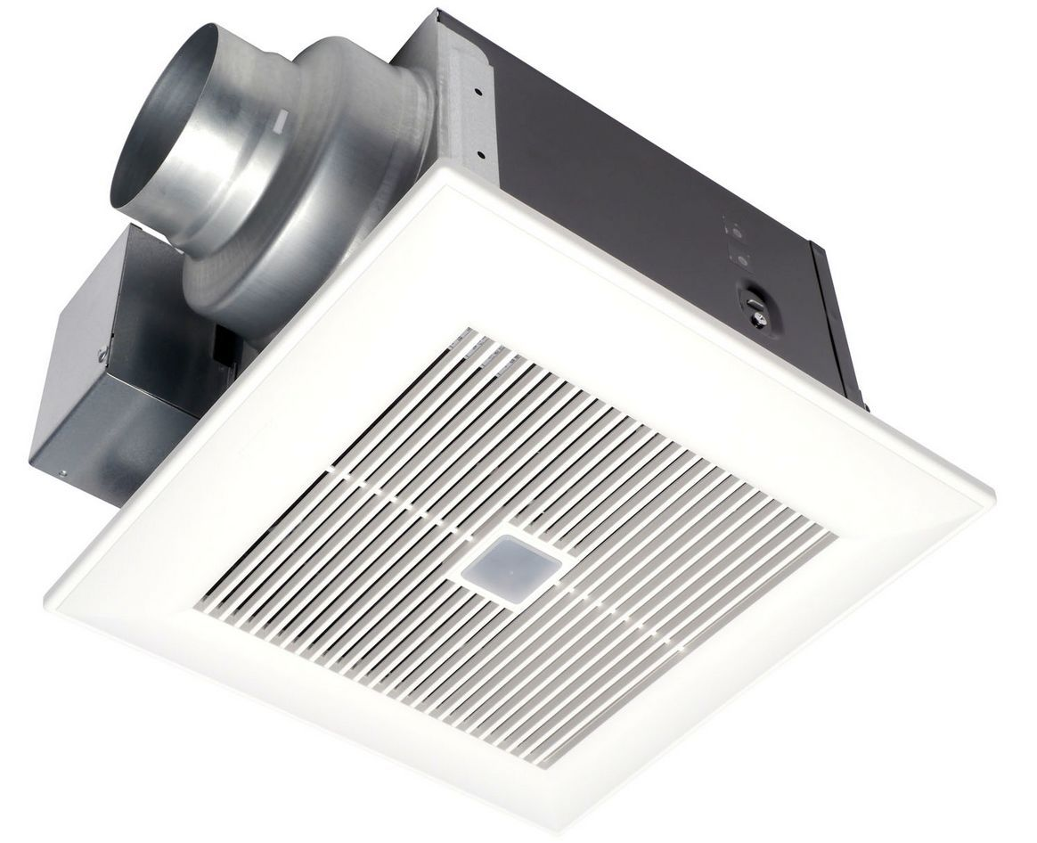 Kitchen Exhaust Fan Small The Quietest Bathroom Exhaust Fans For Your Money