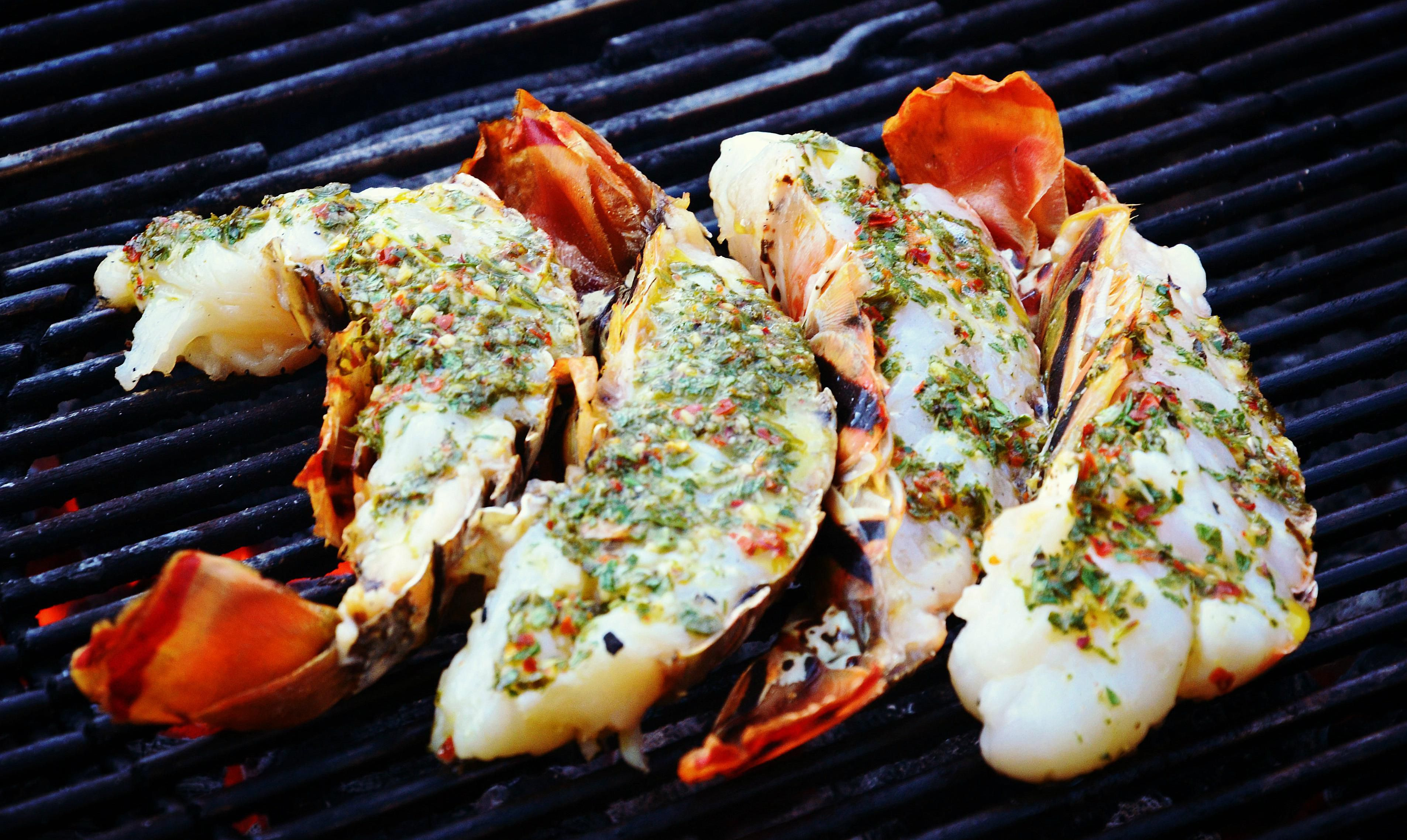 Interior Decorating Living Rooms Basil Butter Smothered Lobster Tails Recipe