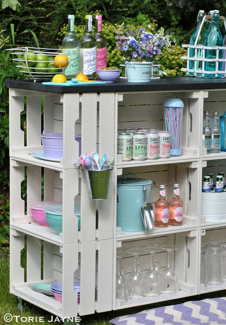Ikea Store Exterieur 25 Ways To Decorate With Wooden Crates