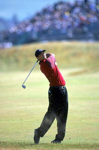 tiger woods wins 2000 british open