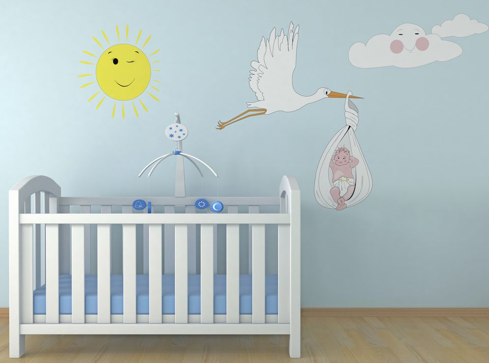 Wallpaper Ideas For Baby Girl Nursery Coloring A Baby S Room Feng Shui Colors