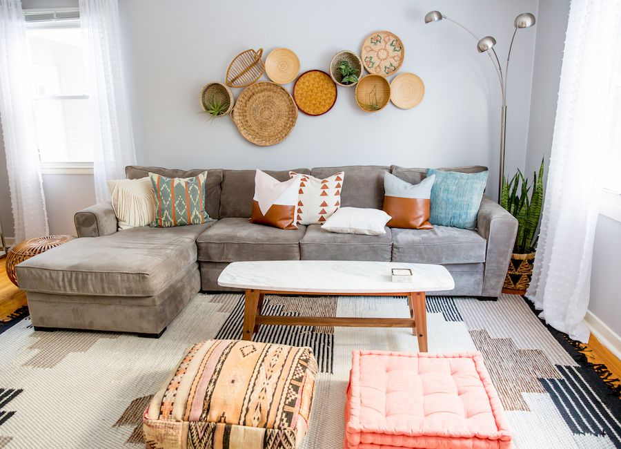 Plaid Taupe How To Mix And Match Throw Pillows Like A Pro