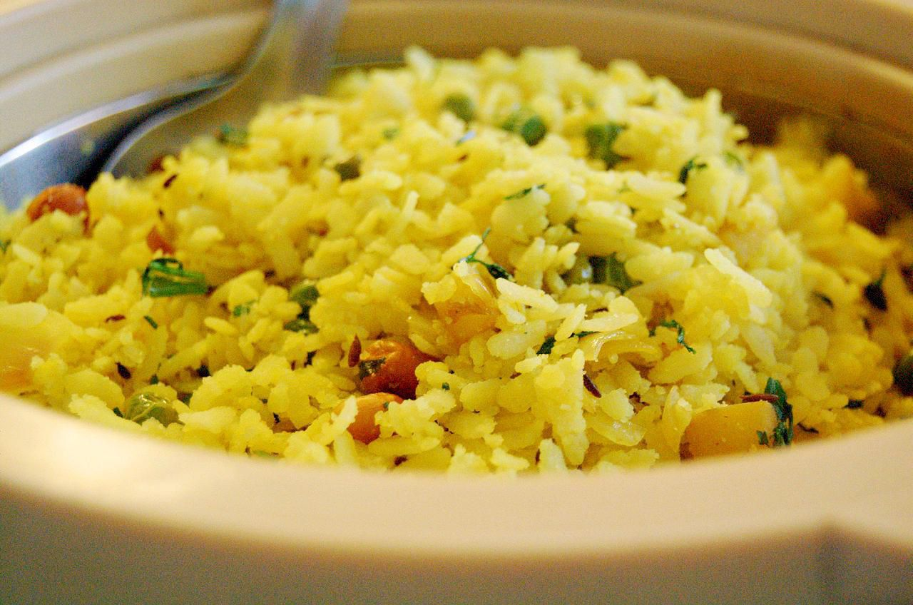 Cuisine Meaning English Indian Flattened Rice Dish Poha Recipe