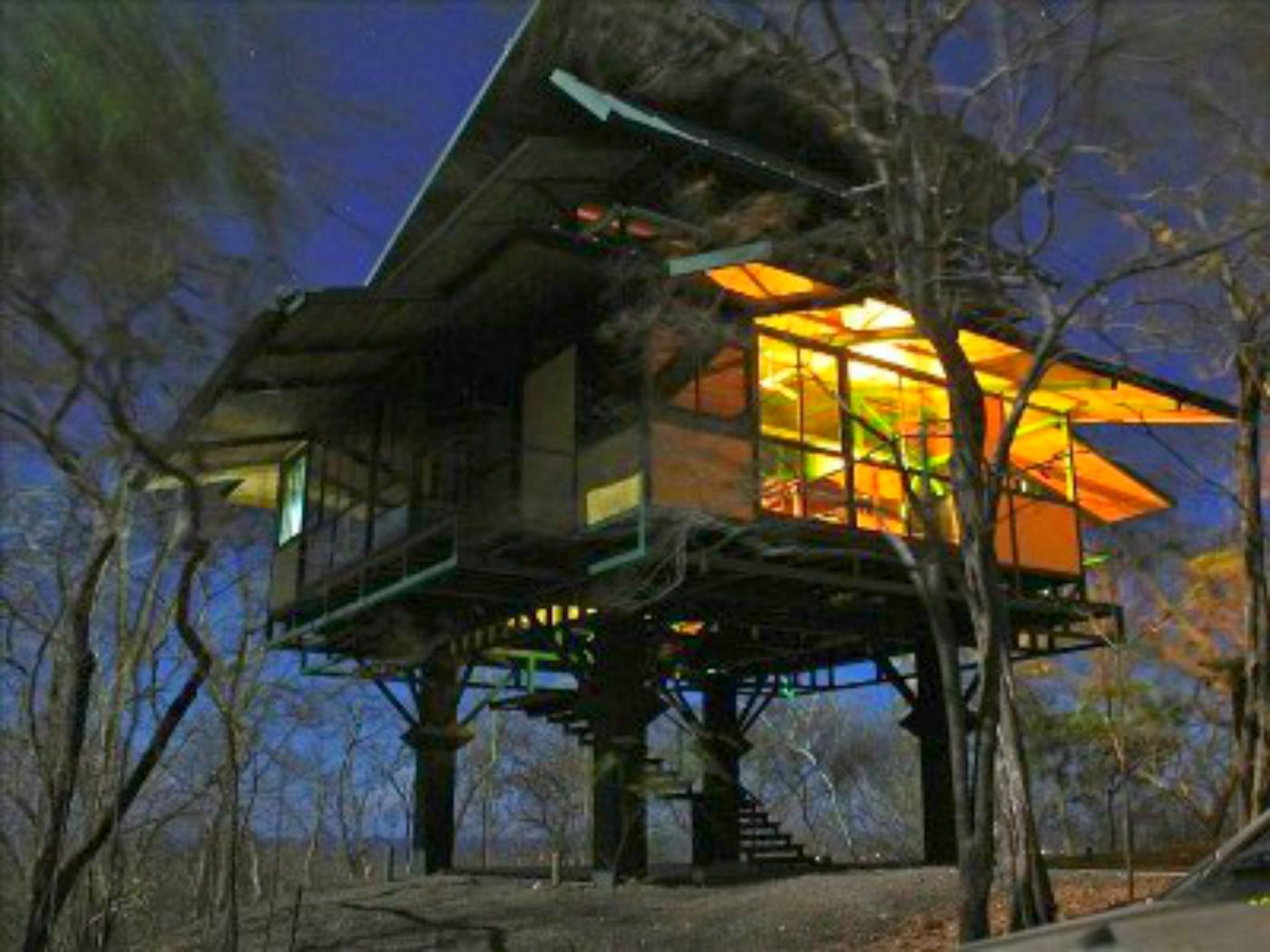Safety Car Rental 6 Lofty Treehouse Vacation Homes You Can Rent