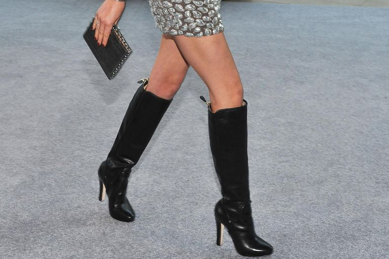 What Women Should Wear With Tall Boots