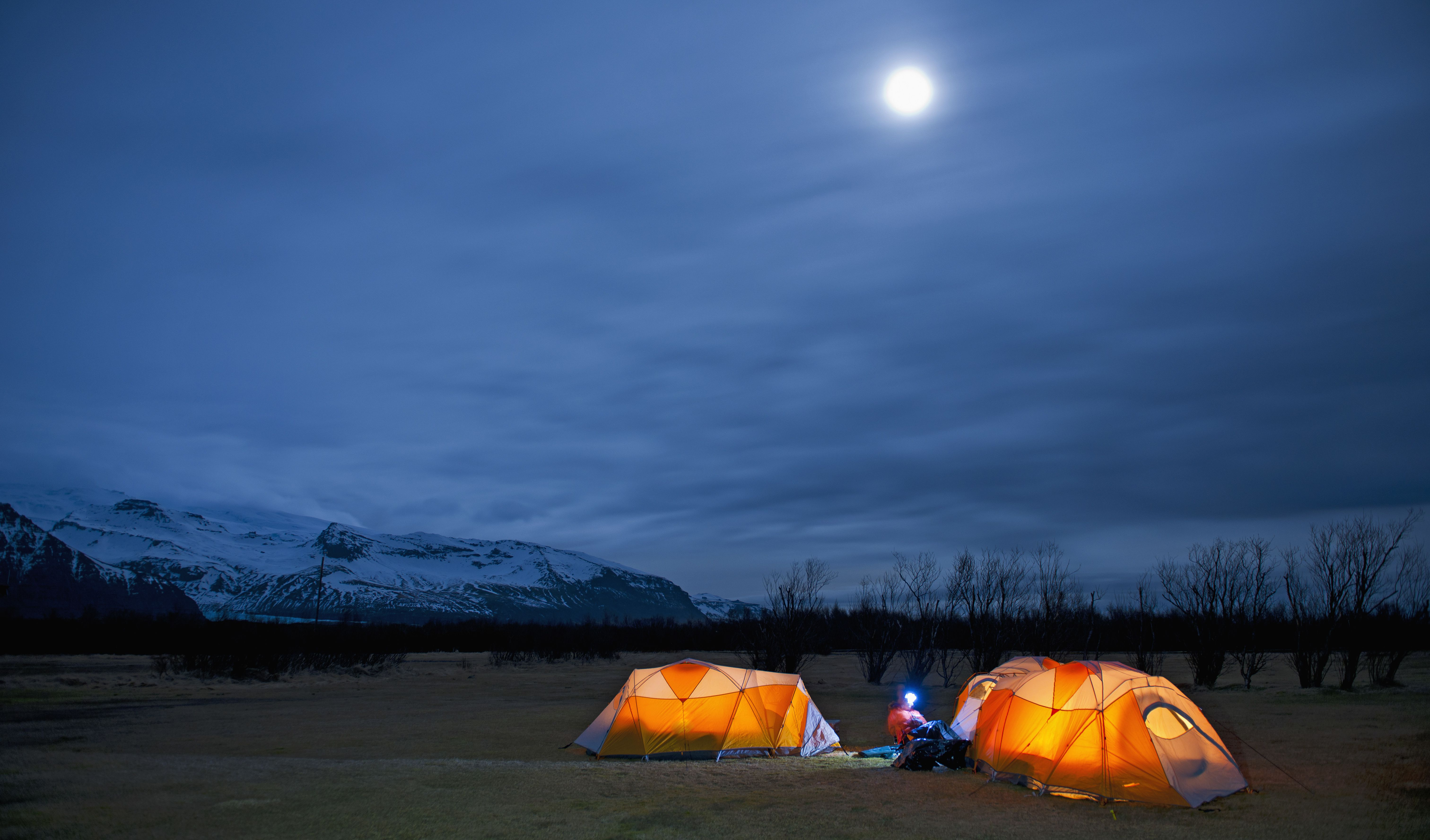 A Coleman Heater Is The Perfect Wintertime Camping Tool