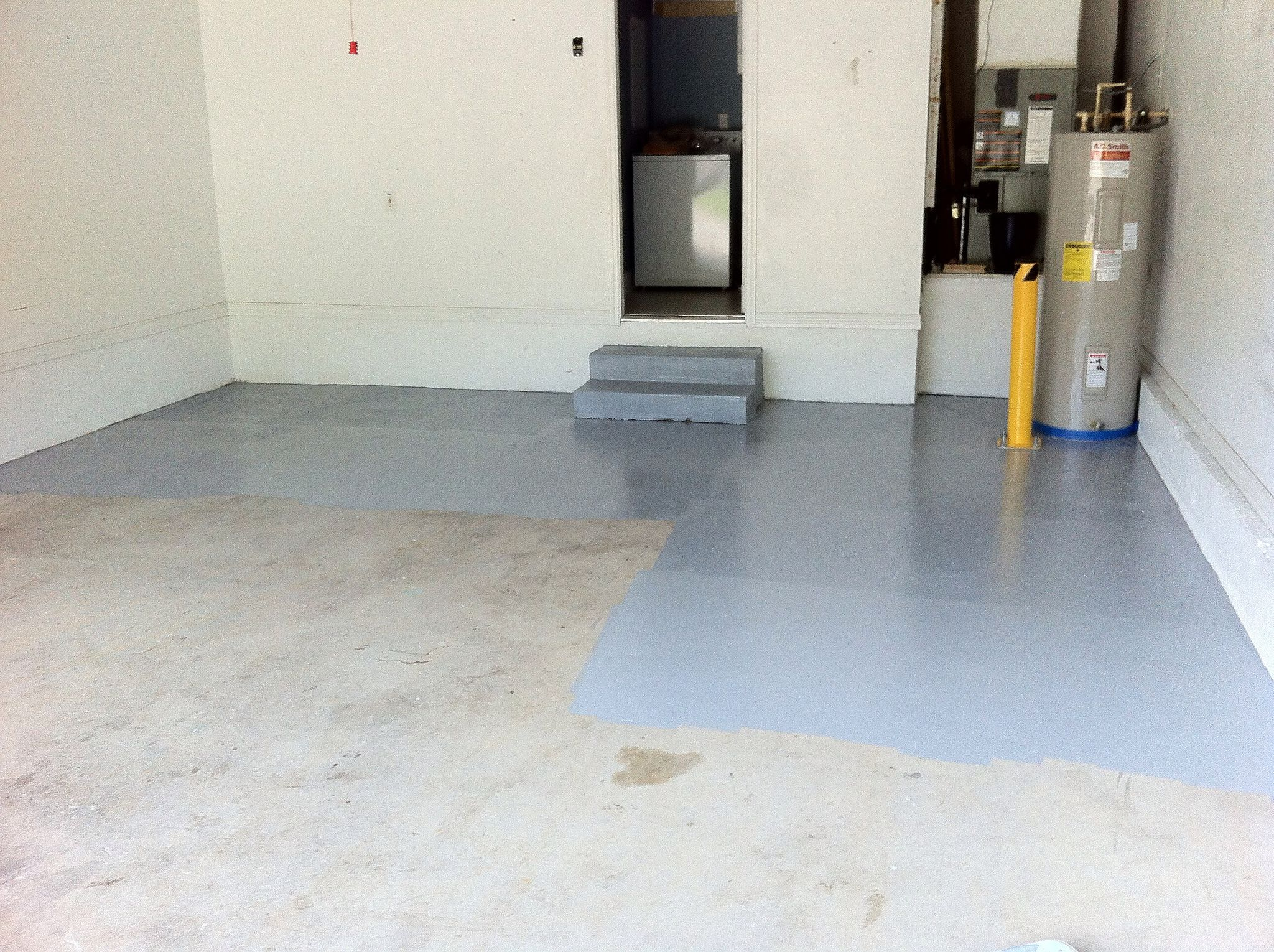 Garage Floor Epoxy Fill Cracks How To Apply Garage Floor Epoxy Like A Pro