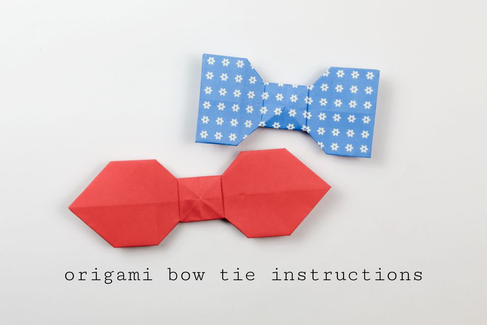 Different Ways To Tie A Tie 30 Different Ways To Tie A Tie That Every Man Should Know Easy Origami Bow Tie Tutorial