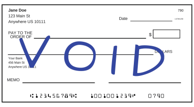 See How to Void a Check: Set up Payments, Deposits, and Investments